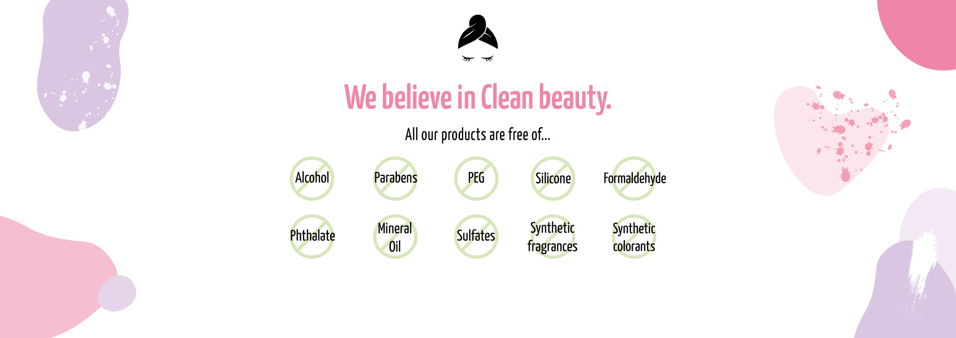 We are Clean beauty